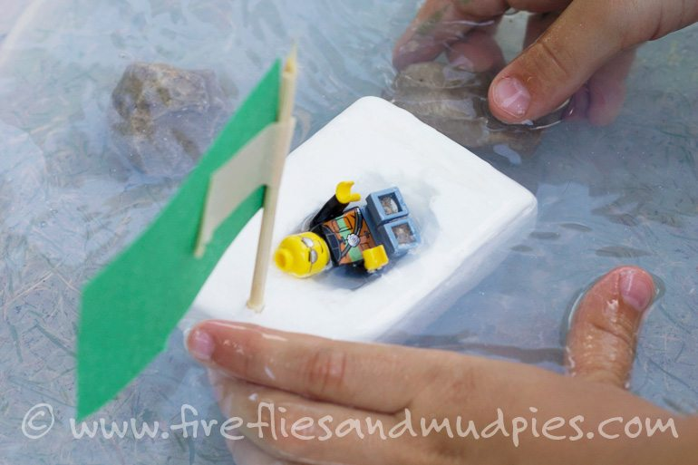 Floating Soap Boats | Fireflies and Mud Pies