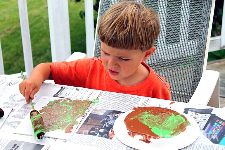 Summer Art Activities for Kids | Fireflies and Mud Pies