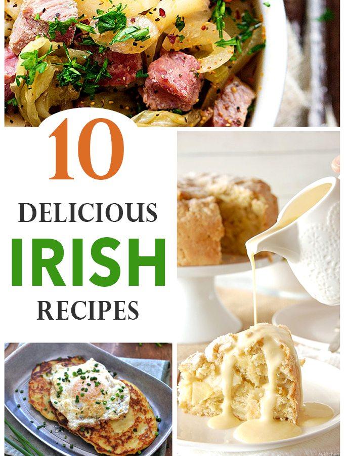 10 Irish Recipes for St. Patrick's Day