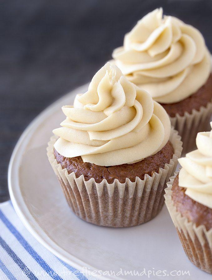 Easy Mocha Cupcakes