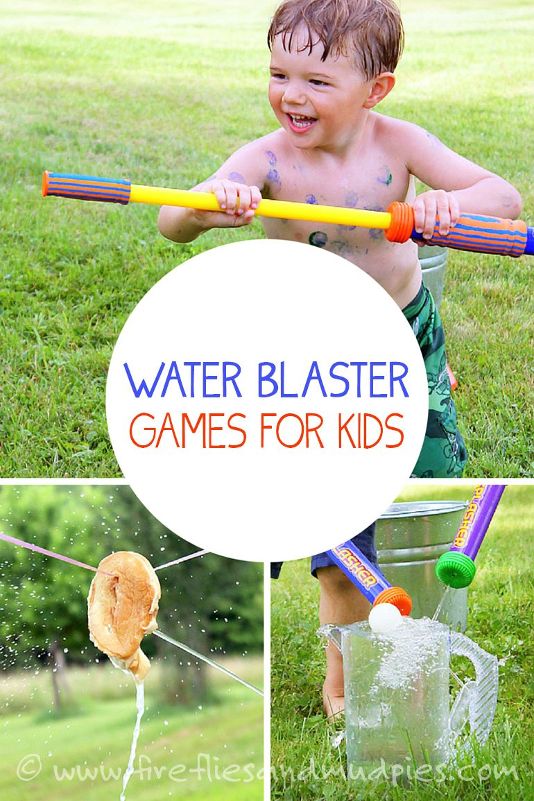 Water Blaster Games for Kids