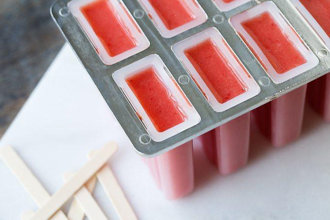Watermelon Berry Popsicles